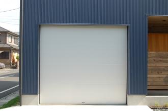ガレージドア メタルフラットドア