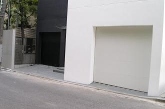 ガレージドア スティールフラットドア