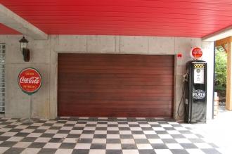 ガレージドア ウッドフラットHBドア