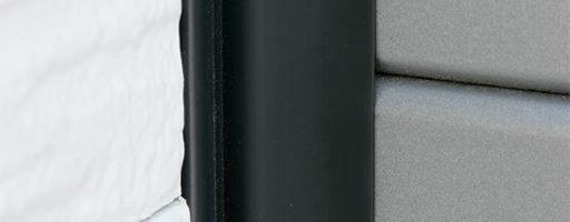 ガレージドア 高気密サイドシール